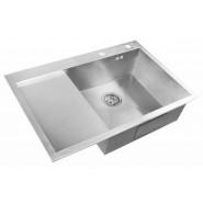Мойка для кухни ZorG Inox X, 780х510 мм, X-7851-R, , 22 900 руб., X-7851-R, Zorg, Мойки из нержавеющей стали