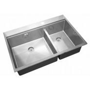 Мойка для кухни Dixi ZorG Inox Master, 780х520 мм, ZM R-5278-L, , 26 900 руб., ZM R-5278-L, Zorg, Мойки из нержавеющей стали