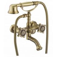 Смеситель для ванны и душа ZorG Antic, 109 мм, A 2001W-BR, , 12 600 руб., A 2001W-BR, Zorg, Смесители для ванны и душа