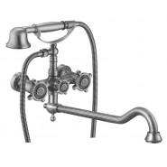Смеситель для ванны и душа ZorG Antic, 327 мм, A 3001WDN-SL, , 9 850 руб., A 3001WDN-SL, Zorg, Смесители с длинным изливом