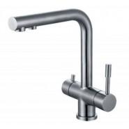 Смеситель для кухни под фильтр Illisio ZorG Inox, 214 мм, SZR-1068, , 17 200 руб., SZR-1068, Zorg, Смесители для кухни