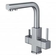 Смеситель для кухни под фильтр Damas ZorG Inox, 200 мм, SZR-1126, , 19 450 руб., SZR-1126, Zorg, Смесители для кухни