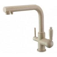 Смеситель для кухни под фильтр ZorG Sanitary, 225 мм, ZR 313 YF-33 ПЕСОЧНЫЙ, , 7 450 руб., ZR 313 YF-33 ПЕСОЧНЫЙ, Zorg, Смесители для кухни