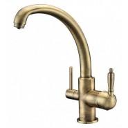 Смеситель для кухни под фильтр ZorG Sanitary, 210 мм, ZR 315 YF-33 BR, , 9 650 руб., ZR 315 YF-33 BR, Zorg, Смесители для кухни