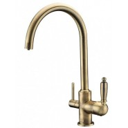 Смеситель для кухни под фильтр ZorG Sanitary, 216 мм, ZR 317 YF-33 BR, , 9 650 руб., ZR 317 YF-33 BR, Zorg, Смесители для кухни