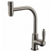 Смеситель для кухни под фильтр ZorG Sanitary, 200 мм, ZR 323 YF-33 NICKEL, , 5 150 руб., ZR 323 YF-33 NICKEL, Zorg, Смесители для кухни