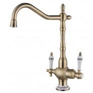 Смеситель для кухни под фильтр ZorG Sanitary, 230 мм, ZR 336 YF-50 BR, , 13 200 руб., ZR 336 YF-50 BR, Zorg, Смесители для кухни