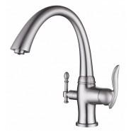 Смеситель для кухни под фильтр ZorG Sanitary, 240 мм, ZR 340 YF SATIN, , 12 050 руб., ZR 340 YF SATIN, Zorg, Смесители для кухни