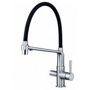 Смеситель для кухни под фильтр ZorG Sanitary, 250 мм, ZR 343-6 YF, , 12 600 руб., ZR 343-6 YF, Zorg, Смесители для кухни