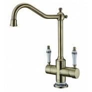 Смеситель для кухни под фильтр ZorG Sanitary, 235 мм, ZR 344 YF BR, , 12 600 руб., ZR 344 YF BR, Zorg, Смесители для кухни