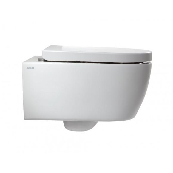 Унитаз подвесной SSWW, безободковый, сиденье быстросъемное, микролифт, CT2039
