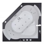 Ванна акриловая с гидромассажем SSWW, 150*150*72 см, A522