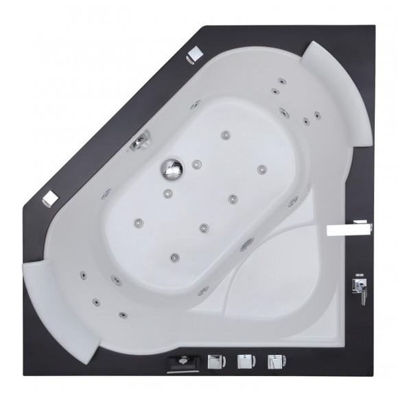 Ванна акриловая с гидромассажем SSWW, 150*150 см, A522